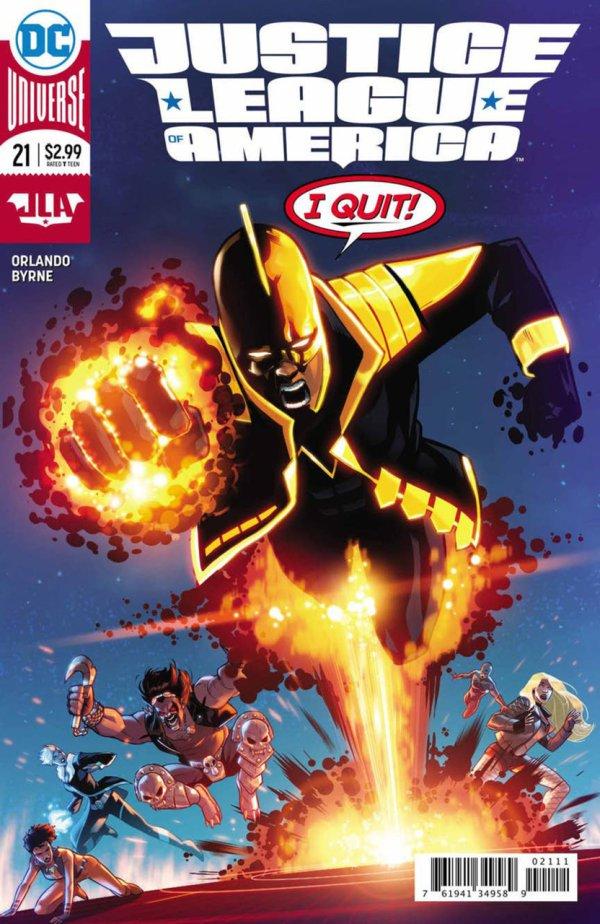 Justice League of America #21