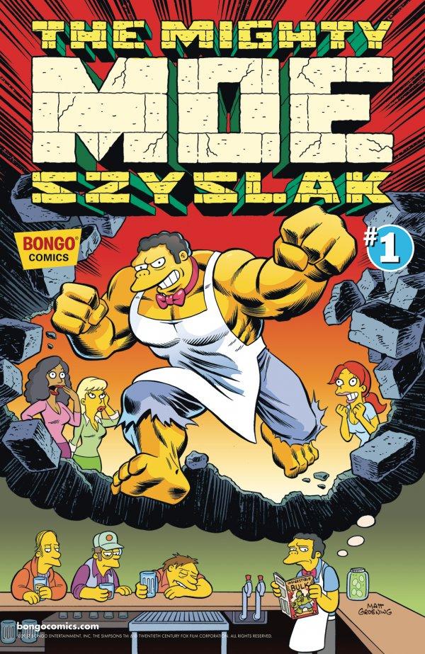 Mighty Moe Szyslak #1 review
