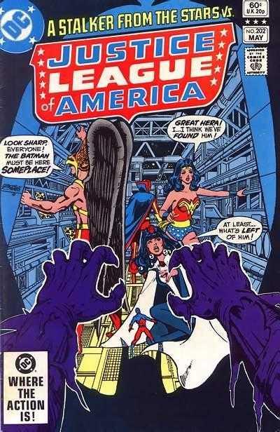Justice League of America #202
