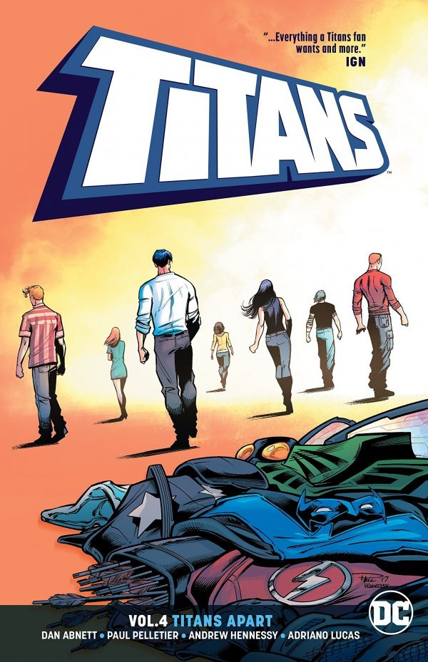 Titans Vol. 4 Titans Apart TP