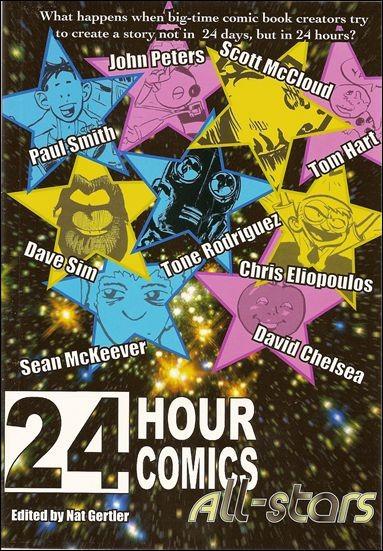 24 Hour Comics All-Stars nn