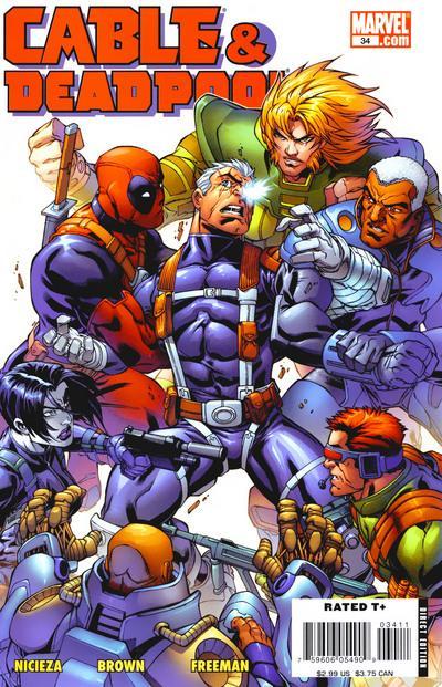 Cable & Deadpool #34