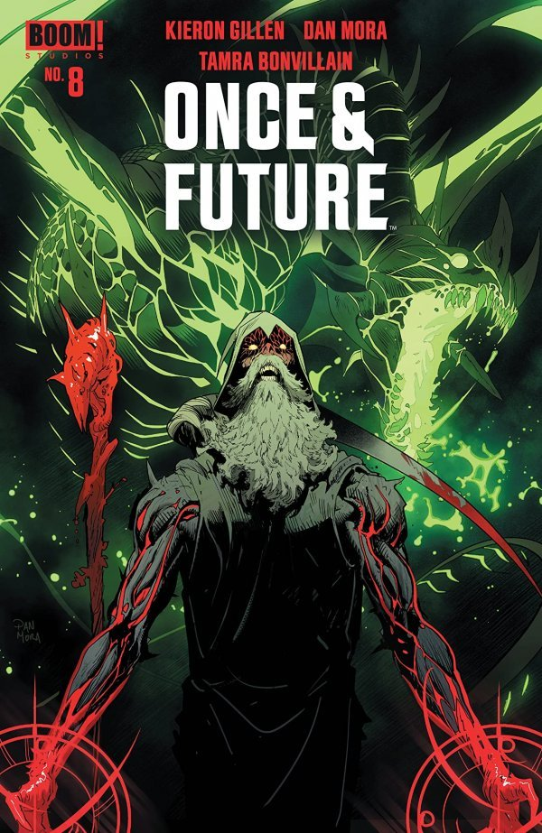Once & Future #8 review