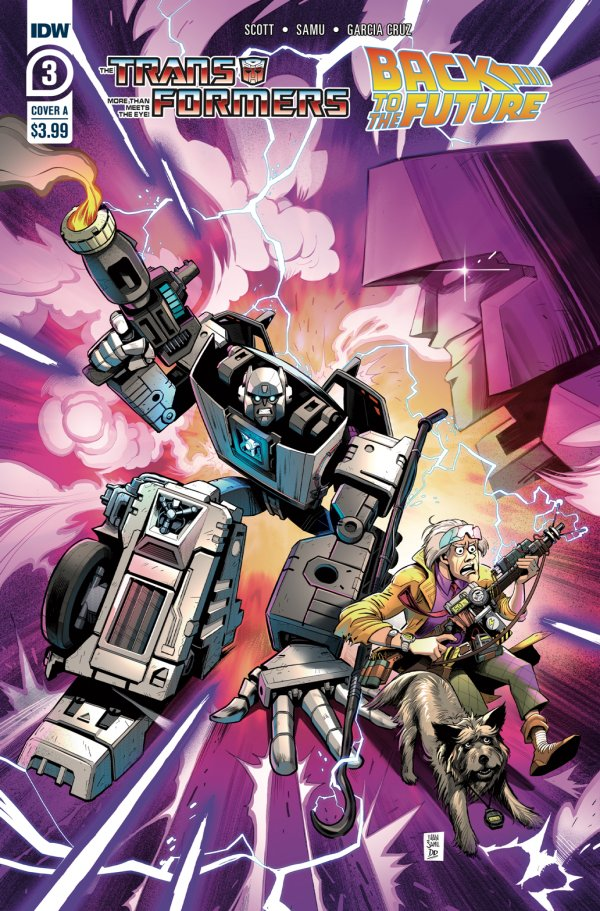 The Transformers / Back To The Future #3