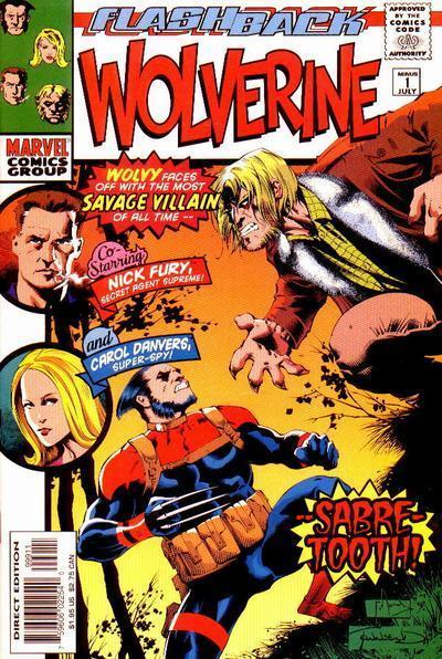 Wolverine #-1