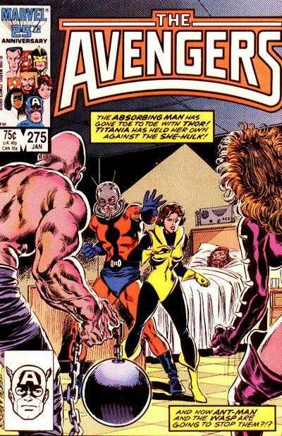 The Avengers #275