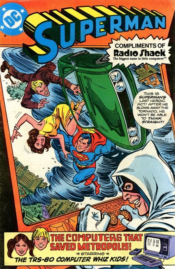 Superman: Radio Shack Giveaways #1