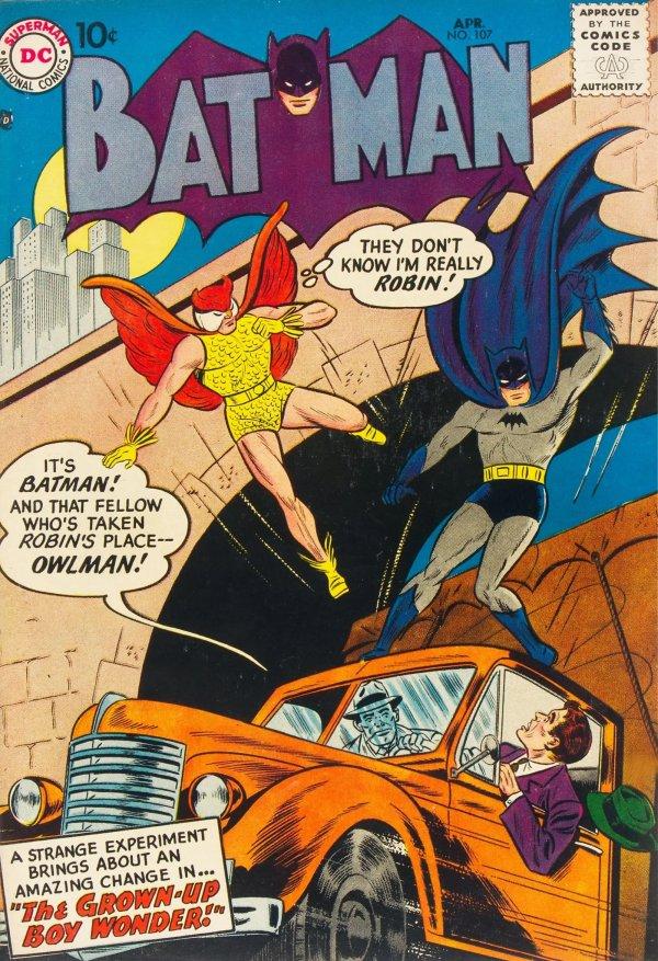 Batman #107