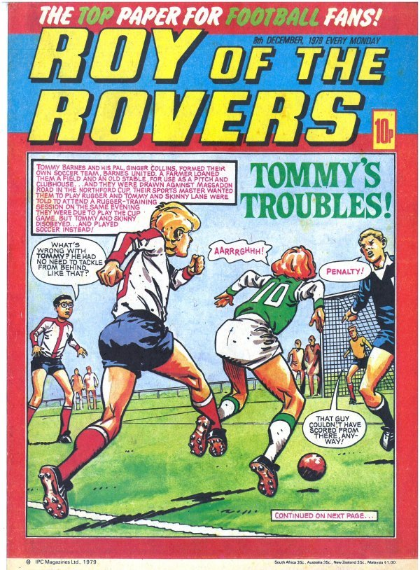 Roy of the Rovers #December 8th, 1979