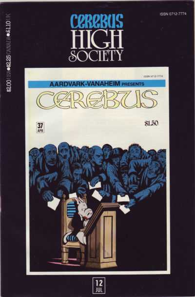 Cerebus High Society #12