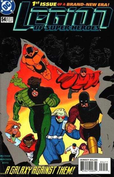 Legion of Super-Heroes #54