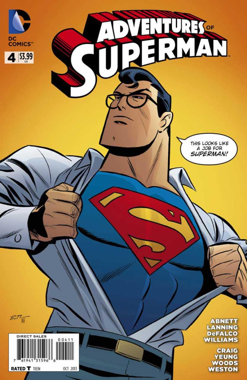 Adventures of Superman #4