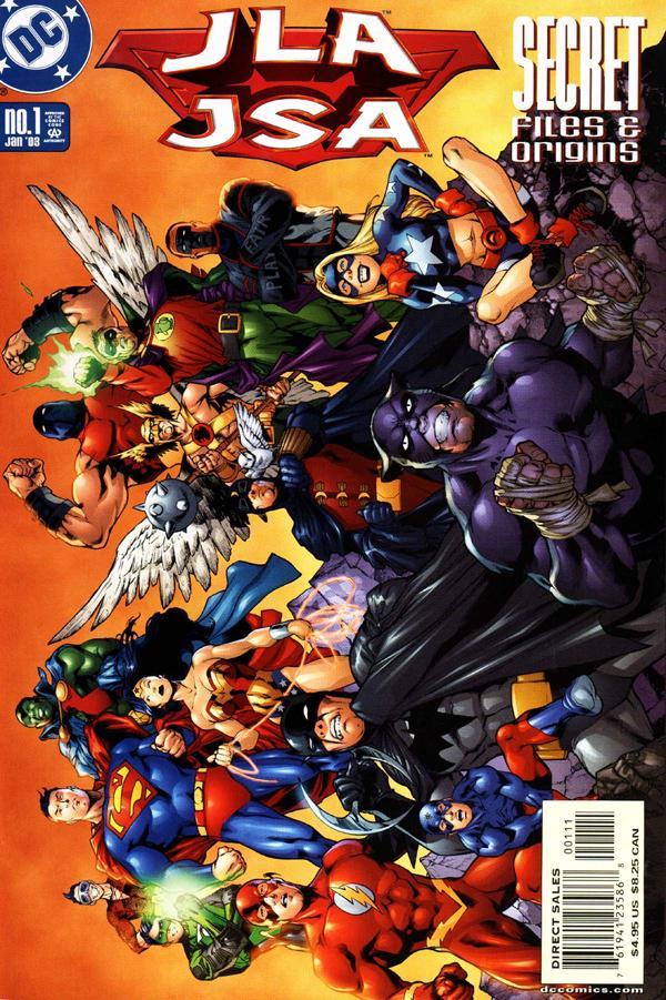 JLA / JSA: Secret Files & Origins #1