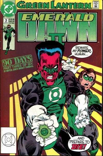 Green Lantern: Emerald Dawn II #3