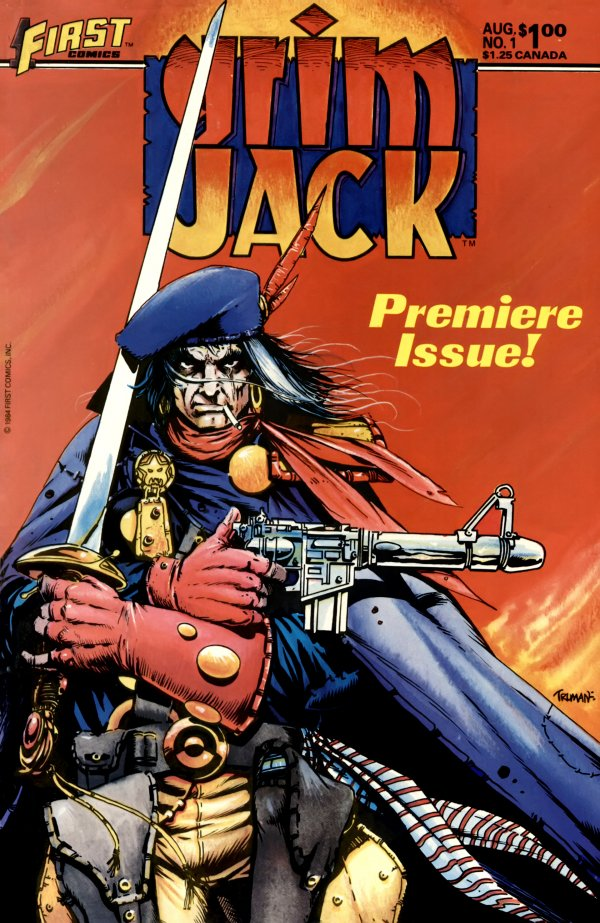 Grimjack #1