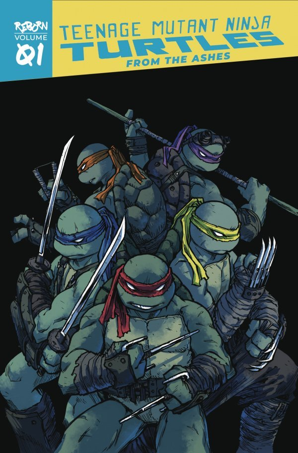 Teenage Mutant Ninja Turtles: Reborn Vol. 1 - From The Ashes TP