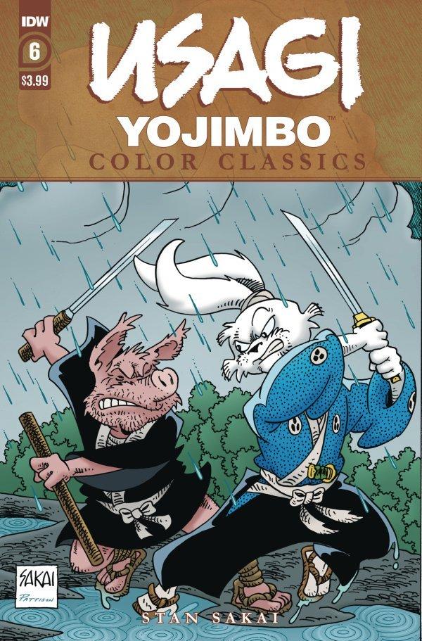 Usagi Yojimbo: Color Classics #6