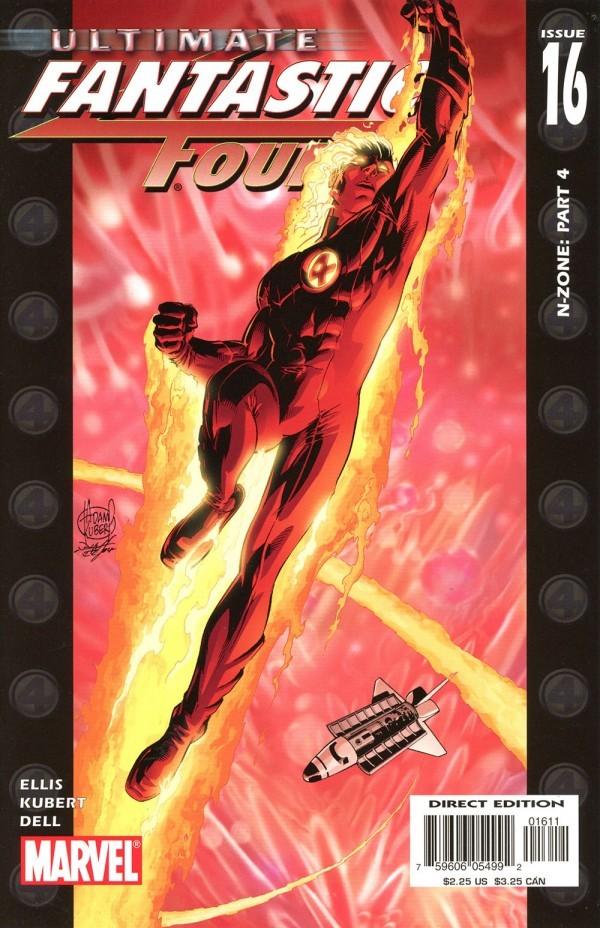 Ultimate Fantastic Four #16