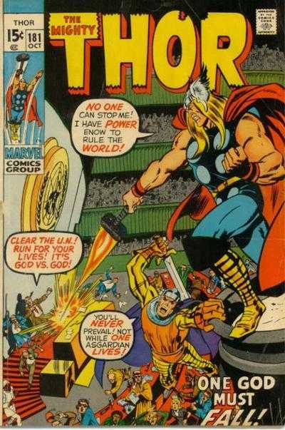 The Mighty Thor #181