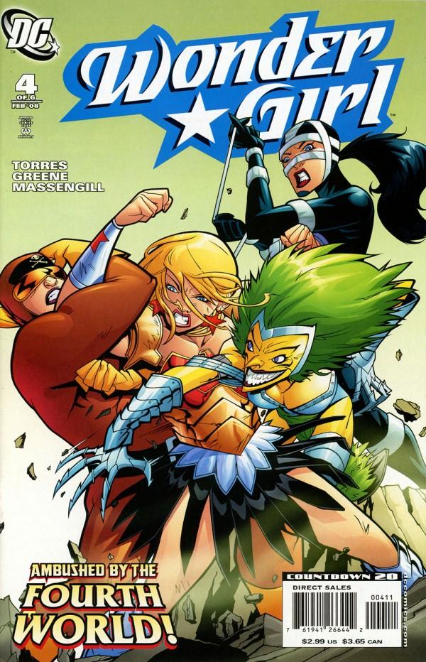 Wonder Girl #4