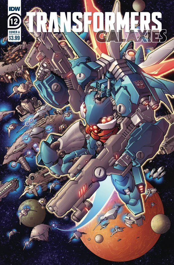 Transformers: Galaxies #12
