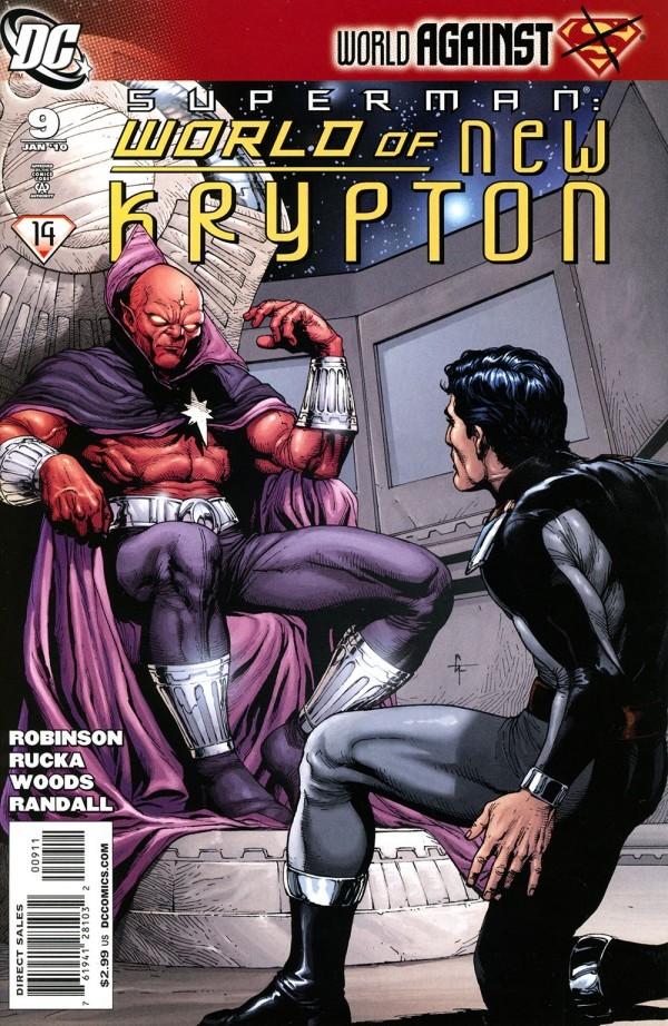 Superman: World of New Krypton #9