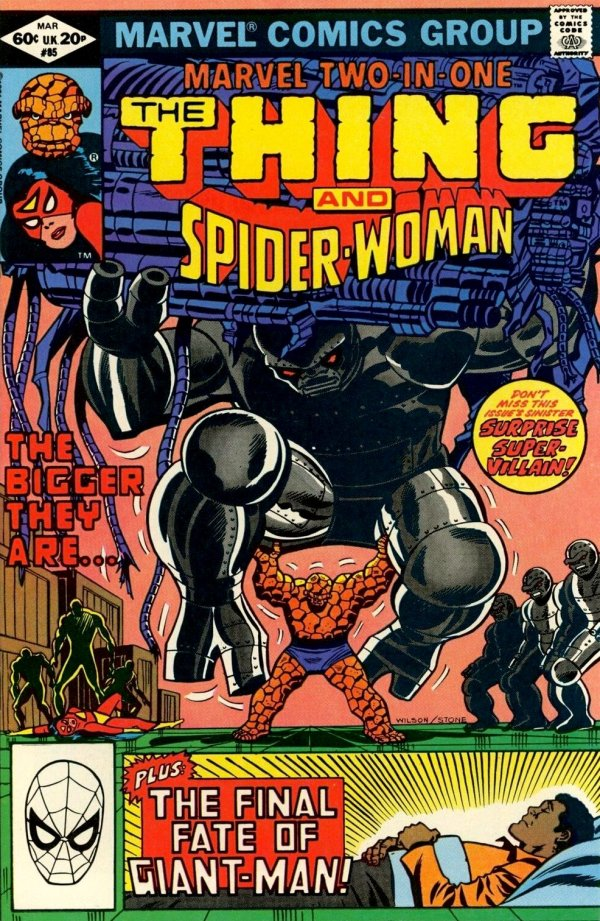 Marvel Two-in-One #85