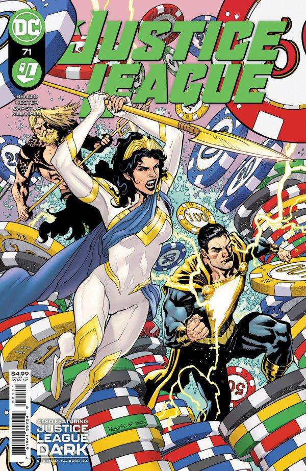 Justice League #71