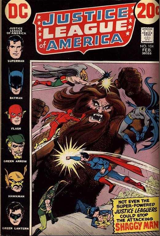 Justice League of America #104