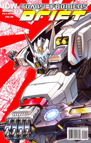 The Transformers: Drift #1