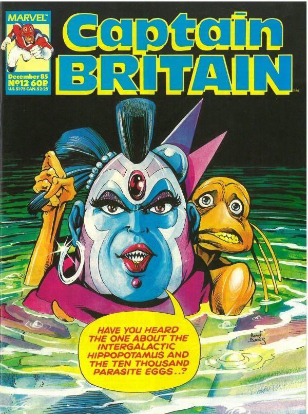 Captain Britain #12