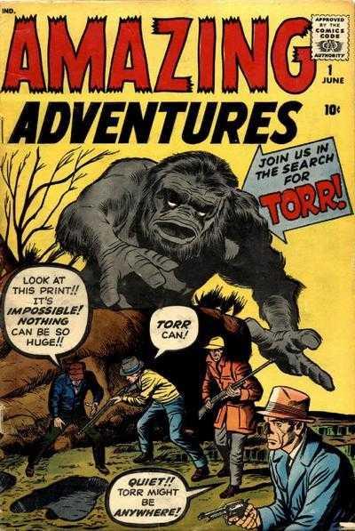 Amazing Adventures #1