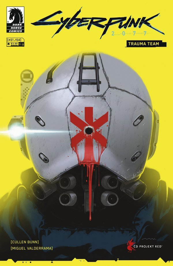 Cyberpunk 2077: Trauma Team #1 review