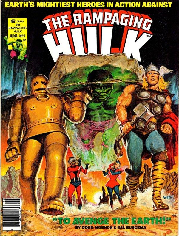 The Rampaging Hulk #9