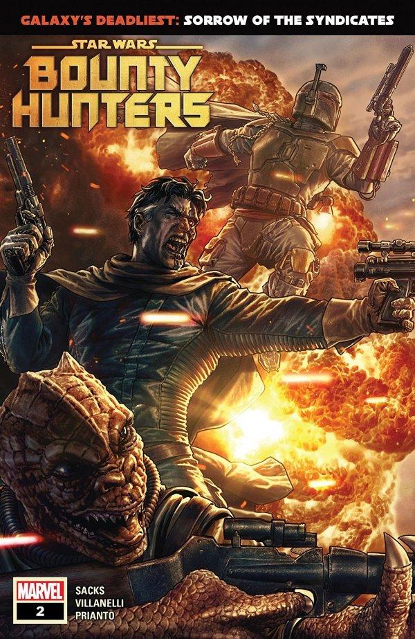 Star Wars: Bounty Hunters #2 review