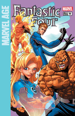 Marvel Age Fantastic Four #9