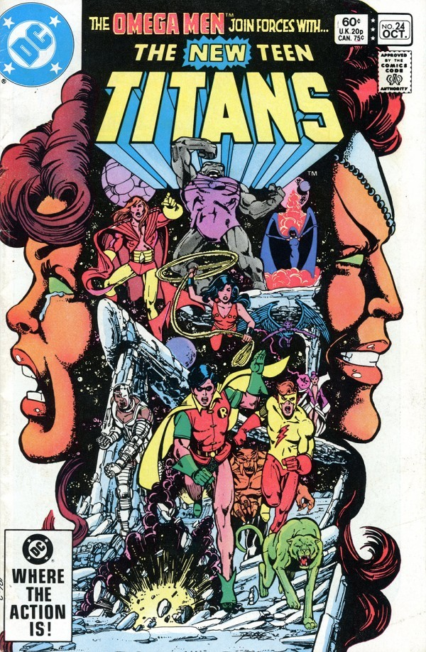 The New Teen Titans #24