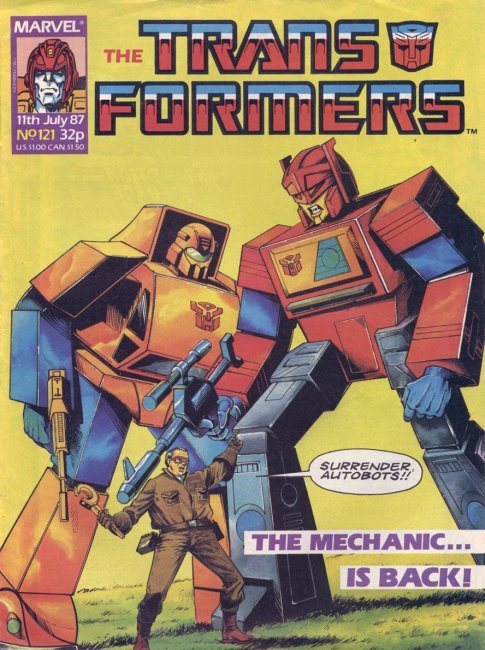 The Transformers #121