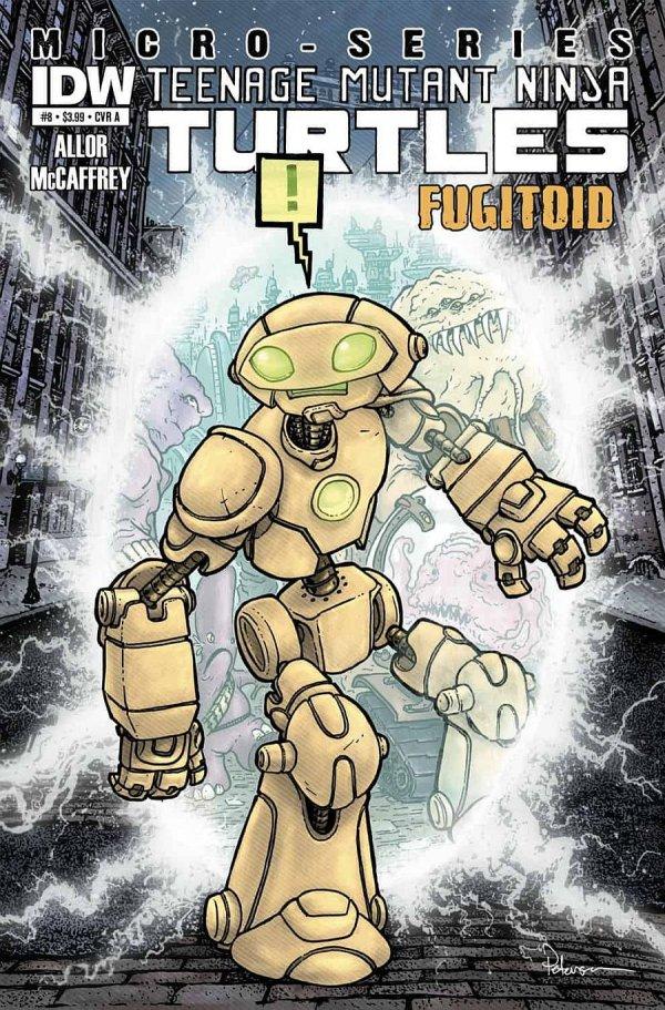 Teenage Mutant Ninja Turtles: Micro-Series #8