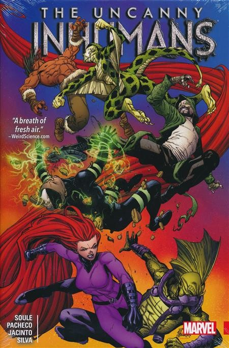 The Uncanny Inhumans Vol. 2 HC