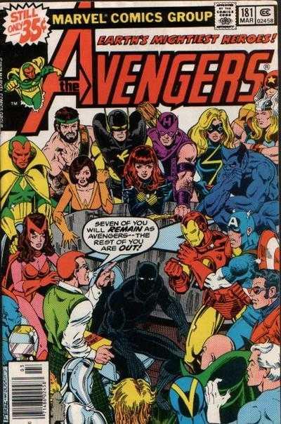 The Avengers #181