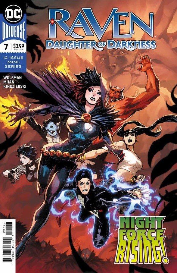 Raven: Daughter of Darkness #7