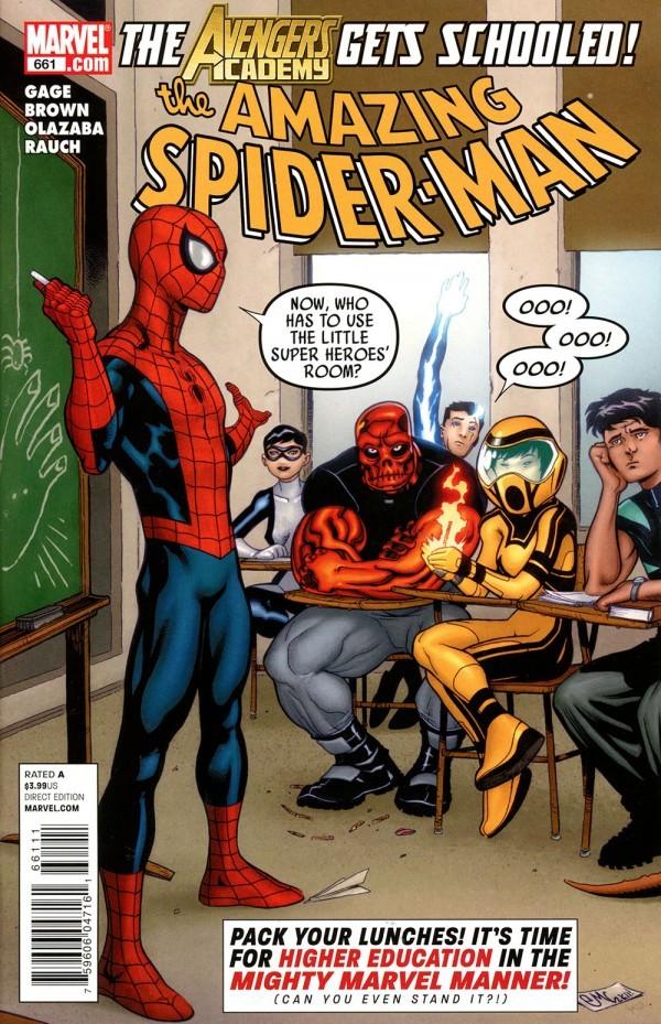 The Amazing Spider-Man #661
