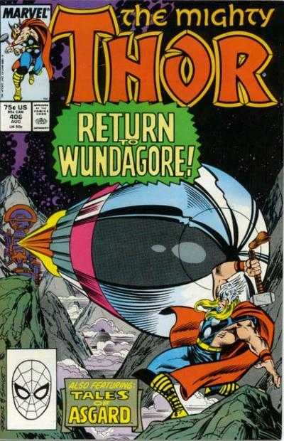 The Mighty Thor #406