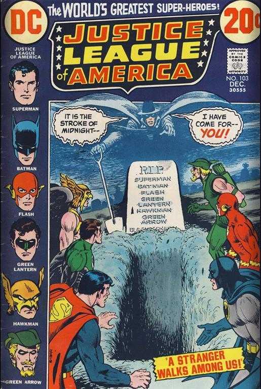 Justice League of America #103