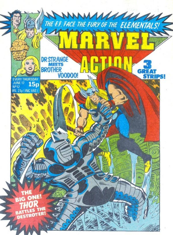 Marvel Action #12