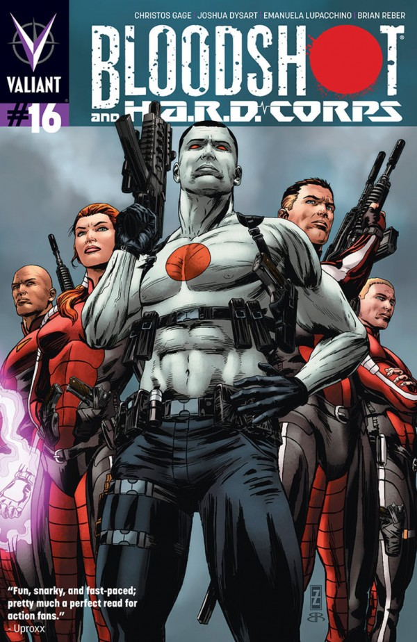 Bloodshot and H.A.R.D. Corps #16