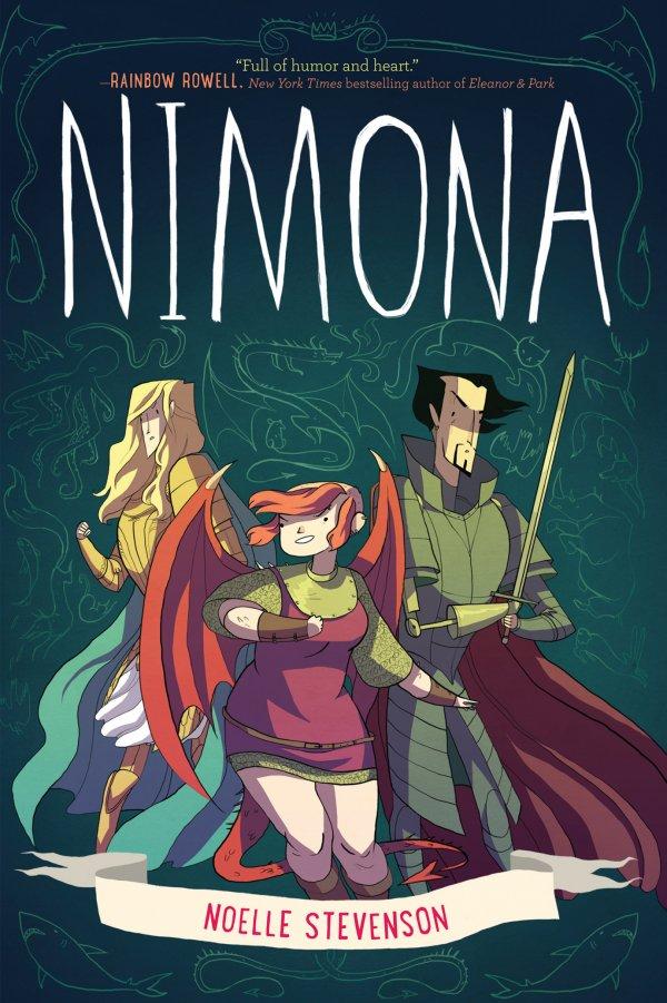 Nimona (HC) review