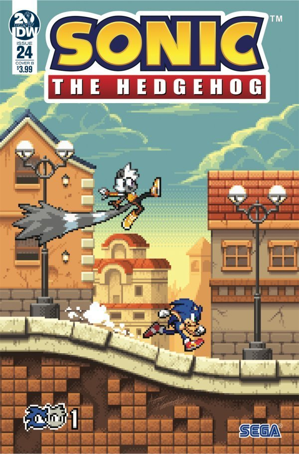 Sonic the Hedgehog #24