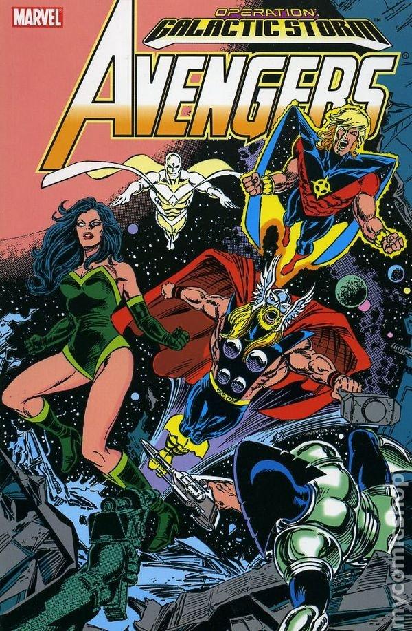 Avengers: Galactic Storm Vol. 1 TP